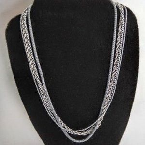 Silpada Four Strand Multi - chain necklace. N1719